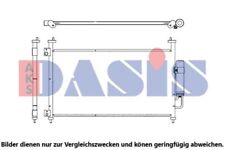 AKS DASIS Kondensator Klimaanlage Klimakondensator Klimakühler 102022N