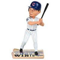 Kyle Schwarber Chicago Cubs 2016 World Series Newspaper Base Bobblehead MLB