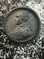 (1777) Courland (Latvia) Maurice of Saxony Tomb Completion Lot#OV012 ~56mm