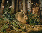 """Hans Hoffmann : """"A Hare in the Forest"""" (c.1585) — Giclee Fine Art Print"""
