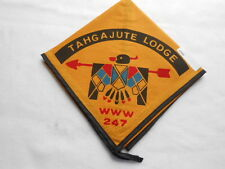 TAHGAJUTE LODGE WWW 247  NECKERCHIEF D332
