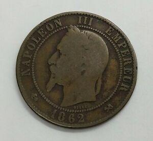 France 1862 10 Centimes - Emperor Napoleon III | KM#798 | Empire of France