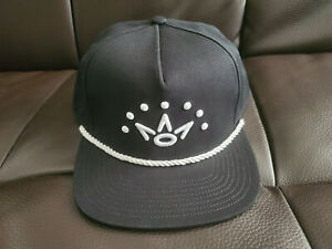 NEW Scotty Cameron Crown Rope Hat 7 Point Crown Snapback US Open USA Black⛳