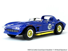 1964 Chevrolet Corvette Grand Sport Roadster #10 1:18 Yatming Road Signature di