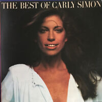 CARLY SIMON THE BEST OF LP ELEKTRA UK BUTTERFLY LABEL EXC PRO CLEANED