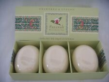CRABTREE & EVELYN SARAWAK TRIPLE MILLED SOAP SET 3 X 3.5 OZ EACH NEW in BOX