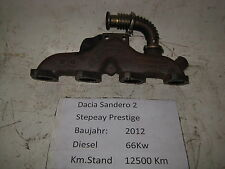 Dacia Sandero II Bj. 2013 K9KC Abgaskrümmer