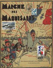 """Feuillet Partition """"60 ans Débarquement en Provence & Libération Toulon"""" 2004"""
