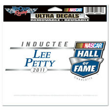 """2011 NASCAR HALL OF FAME LEE PETTY DECAL 4"""" X  6"""""""