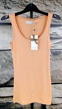 NEU CREAM Damen XS Longtop Matilda Top Shirt Apricot Style 633049 Lachs . #204