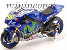 MAISTO 31589 VR MOTOGP GP 2015 YAMAHA YZR M1 BIKE #46 1/18 VALENTINO ROSSI