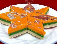Zenia Three Color Barfi Indian Sweet (Burfi), 14oz