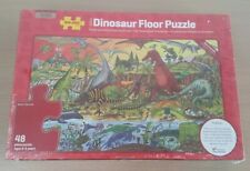 Bigjigs Toys Wooden Dinosaur Floor Jigsaw Puzzle (48 Piece) Educational Kids