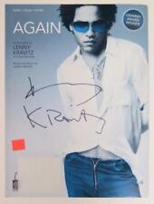 "LENNY KRAVITZ Signed Autograph ""Again"" Sheet Music"