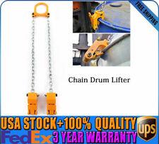 Drum/Barrel Lifting Barrel Lifter Chain Assembly 1 Ton 2,000 Lbs Drum Us New