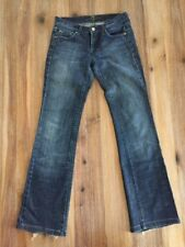 Seven For All Mankind 26 Bootcut Womens Distressed Medium Wash