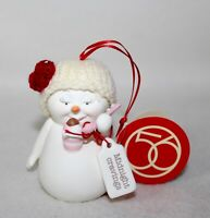 """Brand New Dept 56 Adorable Snowpinions """"MIDNIGHT CRAVINGS"""" Ornament"""