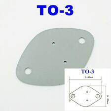 25x, Silicone Rubber TO-3 29x42mm Insulator Pad Sheets Transistor Heat Sink