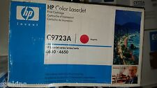 New Genuine HP C9723A Magenta Toner Cartridge 641A Sealed in Plastic FREE SHIP