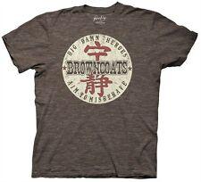 Firefly / Serenity Browncoats Badge Logo Big Damn Heroes T-Shirt Small Unworn
