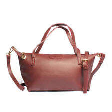 2 Way Shoulder Sling Leather Office Bag (Maroon)