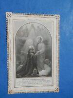 CANIVET DENTELLE HOLY CARD  SAINT PIERRE PONTIFE DU SAINT COEUR LEON XIII   THFR