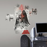 STAR WARS THE FORCE AWAKENS VILLAINS GiaNT WALL STICKERS BiG Decals Room Decor