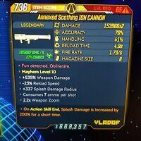 (Xbox) Borderlands 3 [Level 65/Mayhem 10] Ion Cannon (Corr) (200%SPLASH)