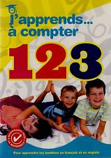 BRAND NEW   DVD // J'APPRENDS A COMPTER 123 //