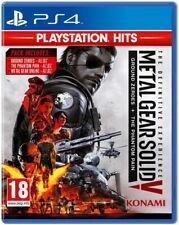 Metal Gear Solid V 5 Edición Definitiva-PlayStation Hits | PS4 Nuevo