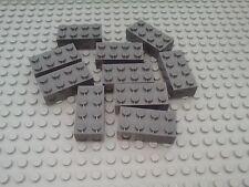 NEW LEGO BRICKS - 10 x 2x4pin DkStone DARK GREY BRICKS 3001 - STAR WARS CITY