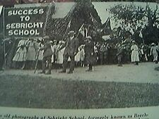 ephemera 1963 picture sebright school beechwood 1900s fete