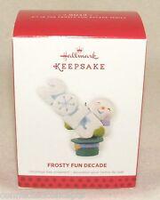 Hallmark Keepsake Frosty Fun Decade 2013 Christmas Ornament NEW!