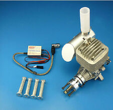 DLE55  Gasoline Engine +Electronic Igniton+Exhaust For 55cc  RCAirplane FM