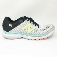 New Balance Womens 860 V10 W860D10 White Black Running Shoes Lace Up Size 9.5 B