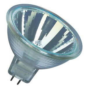 Osram 44860 WFL Decostar 51S Standard 20W 12V 36D MR16 GU5.3 Halogen Lamp