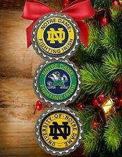 Notre Dame Fighting Irish christmas ornaments tree decorations holiday decor