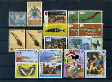 nice lot GAMBIA, all postally used