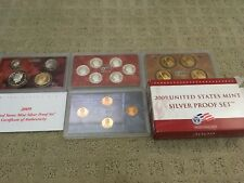 NEW 2009 United States Mint Silver Proof Complete 18 coin set FREE SHIPPING