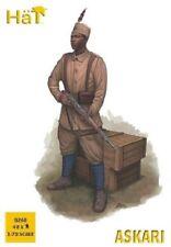 HaT 8268 1/72 Plastic WWI Askari (East African) Infantry 48 Figures