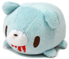 Taito Gloomy Bear Cute Lay Down Stackable 5'' Mascot Plush ~ Light Blue TA33100