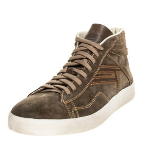 RRP €180 FLEXA By FRATELLI ROSSETTI Leather Sneakers EU41 UK7 US8 Made in Italy