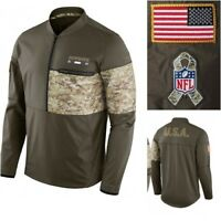 Nike NFL Men's Salute to Service Hybrid Jacket Dallas Cowboys Miami Dolphins NWT