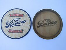 BEER Bar Coaster ~ The BRUERY Provisions Brewery in Old Towne ORANGE, California
