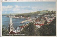 Rothesay from View Indicator postcard 1968