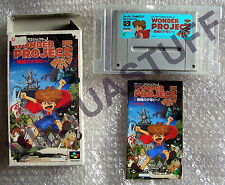 Wonder Projet J, Nintendo, Super Famicom, Super NES, NTSC, JAP, good condition !