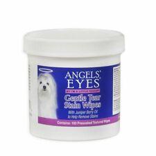 Angels Eyes Gentle Tear Stain Wipes 100 ct Presoaked Dog Eye Juniper berry oil
