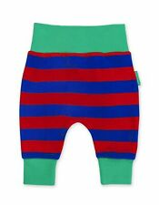 SS20 Toby Tiger Red and Blue Stripe Yoga Pants Organic Cotton Joggers