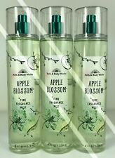 3 Bath And Body Works*Apple Blossom*Fragrance Mist*Free Priority Shipping! New