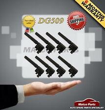 8 IGNITION COIL DG515 DG509 FORD LINCOLN JAGUAR V8 3.9L 4.0L